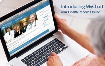 Introducing MyChart, your health record online